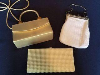 3 small purses