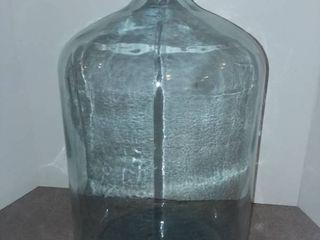 large Glass Bottle Jar 21 x 12 x 12 in Bottom Stamp 1996 30 NRC M3008