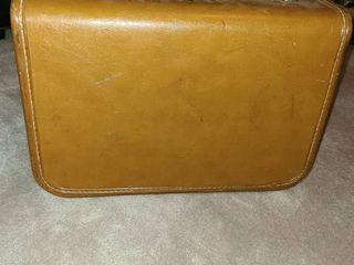 luggage  Vintage piece of luggage  Approximately 12  tall x 16  wide x 9  deep