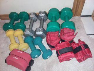 Assorted Hand Weights