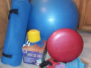 Various Exercise and Fitness Items