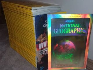 Assorted National Geographic Magazines