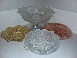 Glass Candy Dishes or Bowls