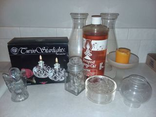 Assorted Candle Items