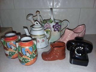 Various Porcelain Decor Figurines