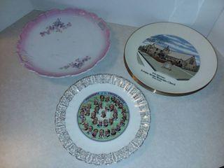 Assorted Decorative Plates