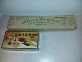 Vintage Bottle and Jug Cutter Kits