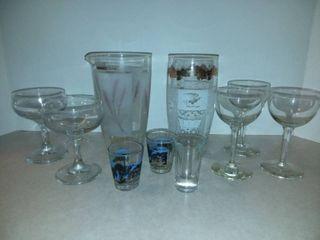 Various Bar Glassware
