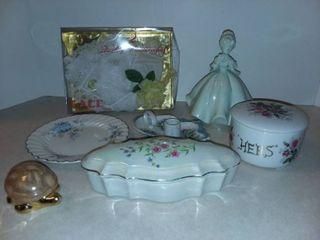 Various Porcelain Decor
