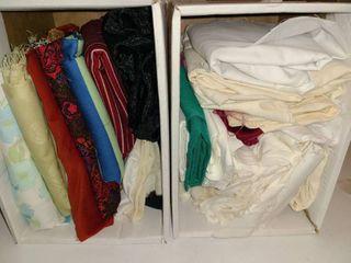 Scrap Fabric  Variety of Materials