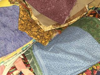 Fabric  Quilting Squares  Variety of Designs