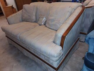 Broyhill Creme Colored loveseat