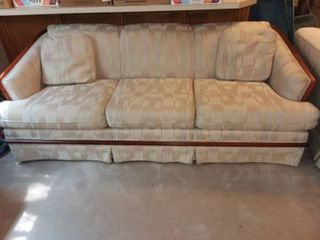 Broyhill Creme Colored Couch