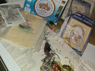 Embroidery Kits  Several various kits