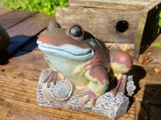 Frog Yard Decor 7 in Tall