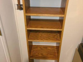Book Shelf  6 Shelves  60  x 18  x 12