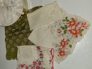 5 pcs  ladies Handkerchiefs