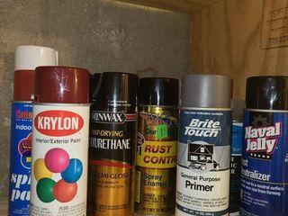Spray Paint and Spray Enamel