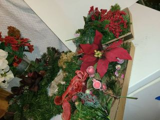 Christmas Decor  Wreath and Greenery  Faux