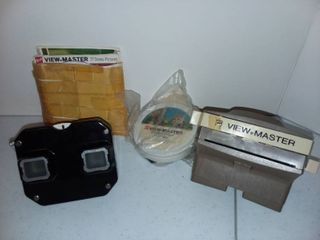 Vintage View Master Toys with Slides