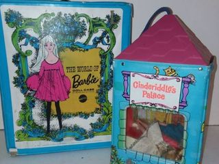 Barbie Doll Case with Cinderiddles Palace