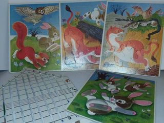 Puzzles and Horse Race Game