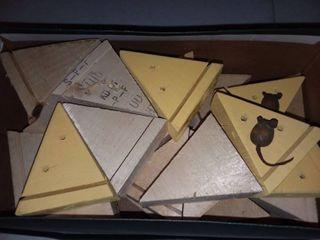 Wooden Cheese Blocks