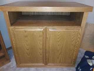 Wood Cabinet 37 x 40 x 25 in