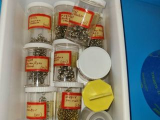 Miscellaneous Bolts  Chain  and Peg board hooks and picture hooks