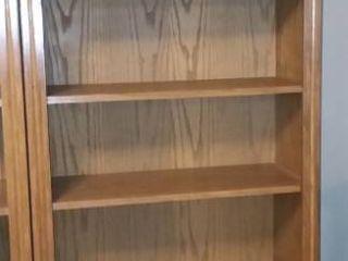 Wood 7 Shelf Bookcase 78 x 31 x 13 in