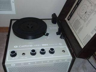 Califone Record Player