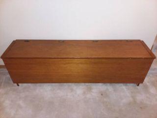 Wooden Storage Bench 18 x 61 x 14 in