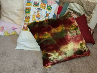 Throw Pillows  8 Random Pillows