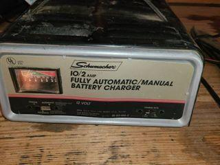 Battery Charger  SCHUMACHER 12 Volt  10 2 AMP