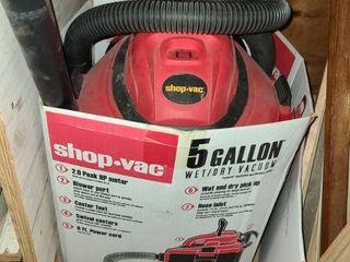 Shop Vac 5 Gal Wet Dry Vac