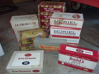 Various Cigar Boxes