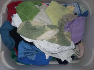 Tote of Shop Rags