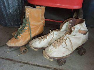 Vintage Roller Skates 2 Pair
