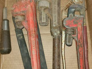 Pipe Wrenches and other Items