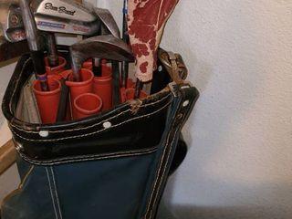 Golf Clubs with Bag  Wilson Sam Snead