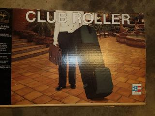 Clubroller  luggage for your clubs  New in box