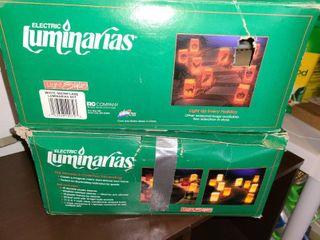 2 Boxes of lUMINARIAS  In Christmas Decor