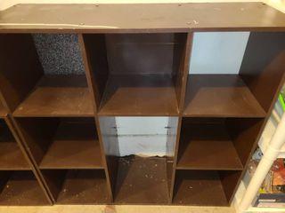 Bokk Shelf 36  x 36  x 12