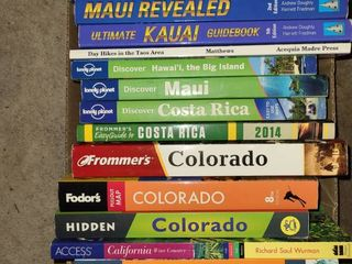 Books  Traveling and other miscellaneous