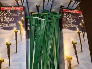 light Stakes  9 Boxes of 25ct