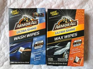 ArmorAll Wash and Wax Wipes