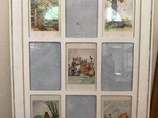 Winnie the Pooh baby room wall art