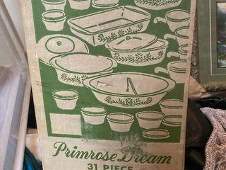 cooking dish set Primrose Dream