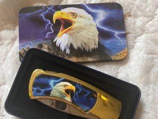 bald eagle pocket knife