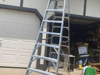 10 ft aluminum step ladder